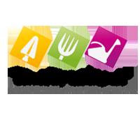 """Logo Ogródków Przedszkolnych w Gminie Szamotuły """"Zielony Zakątek"""""""
